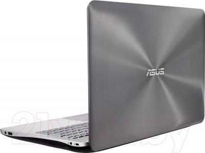 Ноутбук Asus N551JM-CN099H - вид сзади