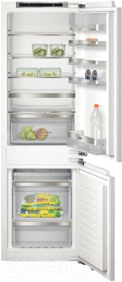 Холодильник с морозильником Siemens KI86NAD30R - общий вид
