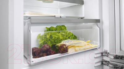 Холодильник с морозильником Siemens KI86NAD30R