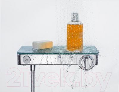 Смеситель Hansgrohe Shower TabletSelect 13171400 - в использовании