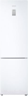 Холодильник с морозильником Samsung RB37J5450WW/WT - вид спереди