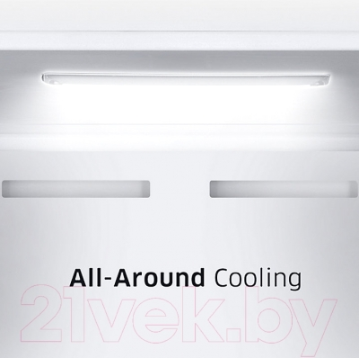 Холодильник с морозильником Samsung RB37J5450WW/WT