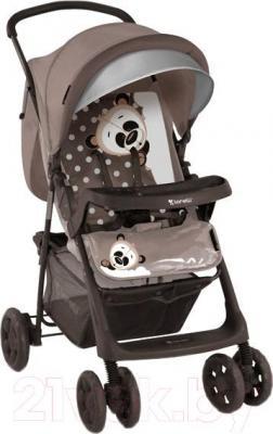 Детская прогулочная коляска Lorelli Star (Beige Panda) - общий вид