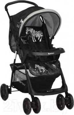 Детская прогулочная коляска Lorelli Star (Black Zebra) - общий вид