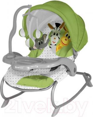 Детский шезлонг Lorelli Dream Time (Green Safari) - общий вид