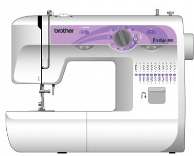 Швейная машина Brother Prestige 300 - вид спереди