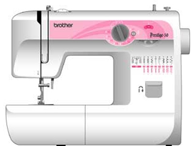 Швейная машина Brother Prestige 50 - вид спереди
