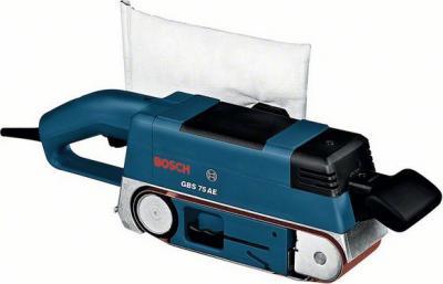 Профессиональная ленточная шлифмашина Bosch GBS 75 AE Set Professional (0.601.274.708) - общий вид
