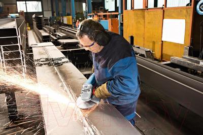Профессиональная болгарка Bosch GWS 22-180 H Professional (0.601.881.103) - в работе