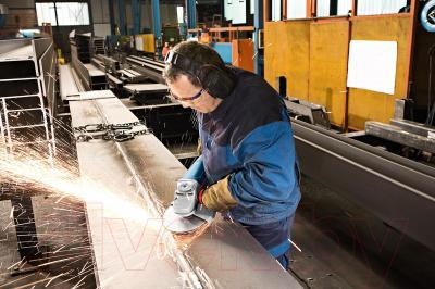 Профессиональная болгарка Bosch GWS 22-230 H (0.601.882.103) - в работе