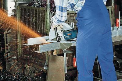 Профессиональная болгарка Bosch GWS 24-300 J (0.601.364.800) - в работе