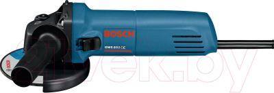 Профессиональная болгарка Bosch GWS 850 CE (0.601.378.790) - вид сбоку