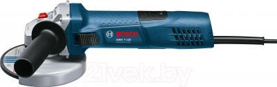 Профессиональная болгарка Bosch GWS 7-125 Professional (0.601.388.102) - вид сбоку