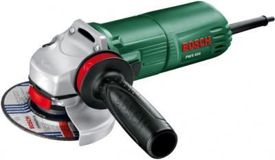 Угловая шлифовальная машина Bosch PWS 650 (0.603.411.021) - общий вид
