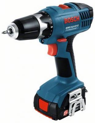 Профессиональная дрель-шуруповерт Bosch GSR 14,4-2-LI Professional (2 аккумулятора) (0.601.9A4.407) - общий вид