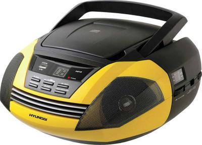 Магнитола Hyundai H-1404 Yellow - общий вид
