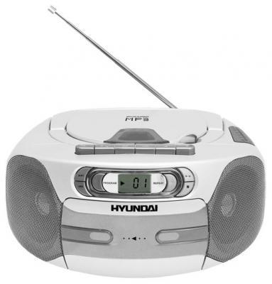 Магнитола Hyundai H-1417 White - общий вид