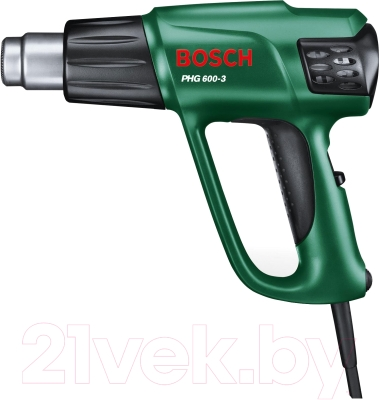 Строительный фен Bosch РHG 600-3 (0.603.29B.008)