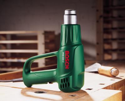 Строительный фен Bosch PHG 500-2 (0.603.29A.008) - в работе