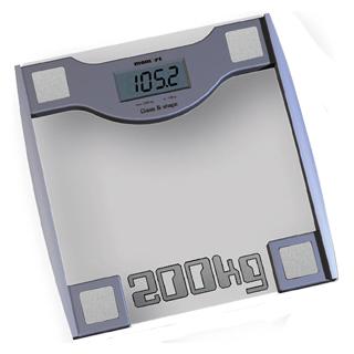 Напольные весы электронные Momert 5831 - вид суверху