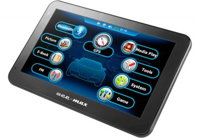 GPS навигатор SeeMax navi E710 HD  - общий вид