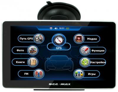 GPS навигатор SeeMax navi E710 HD BT  - общий вид