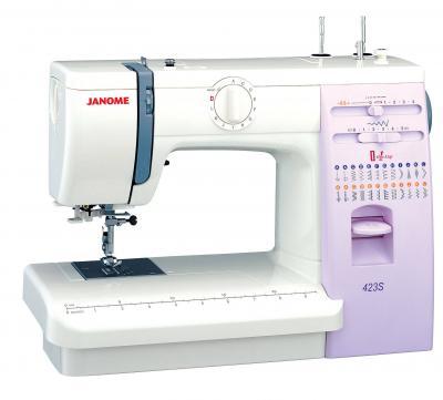 Швейная машина Janome 423S - вид сбоку