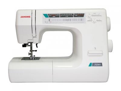 Швейная машина Janome 7524A - спереди
