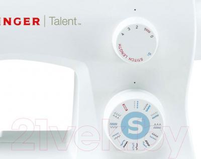 Швейная машина Singer Talent 3323 - управление