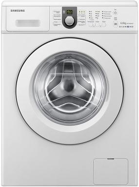 Стиральная машина Samsung WF1600WCW (WF1600WCW/YLP) - вид спереди