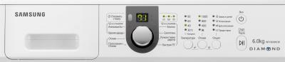 Стиральная машина Samsung WF1600WCW (WF1600WCW/YLP) - панель управления