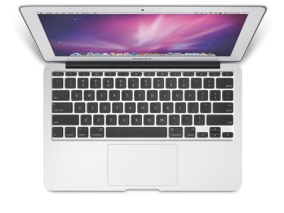 Ноутбук Apple MacBook Air 11'' (MC968RS/A) - сверху
