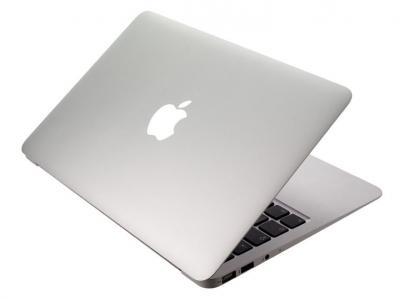 Ноутбук Apple MacBook Air 11'' (MC969RS/A) - почти закрытый