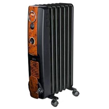 Масляный радиатор Vitek VT-2104 BK - общий вид