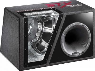 Корпусной активный сабвуфер Mac Audio STX 110 BP - общий вид