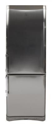 Холодильник с морозильником Indesit NBA 18 FNF NX H - общий вид