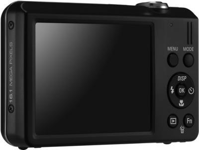 Компактный фотоаппарат Samsung ST93 (EC-ST93ZZBPB) Black - Вид сзади