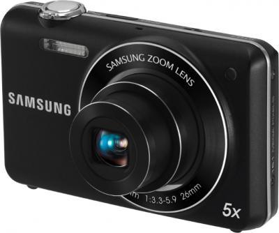Компактный фотоаппарат Samsung ST93 (EC-ST93ZZBPB) Black - Общий вид