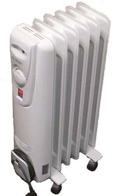 Масляный радиатор Термия Н0715 - общий вид