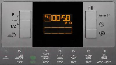 Посудомоечная машина Beko DFN 6833 B - панель управления