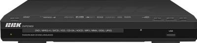 DVD-плеер BBK DVP256SI Black - спереди
