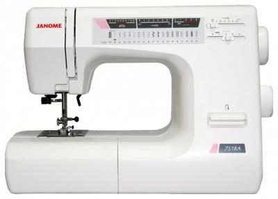 Швейная машина Janome 7518A - вид сбоку