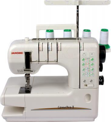 Распошивальная машина Janome CoverPro II - общий вид