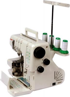 Распошивальная машина Janome CoverPro II - вид сбоку