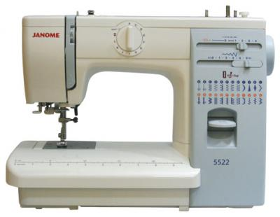 Швейная машина Janome 5522 - вид спереди