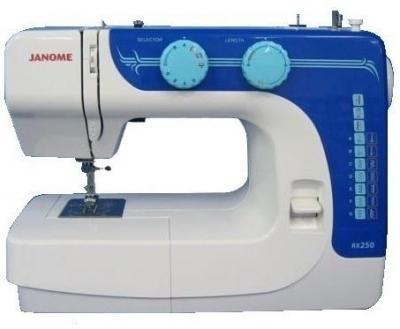 Швейная машина Janome RX 250 - вид сбоку
