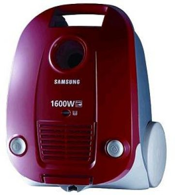 Пылесос Samsung VCC4141V3E/XEV (бордовый) - вид спереди