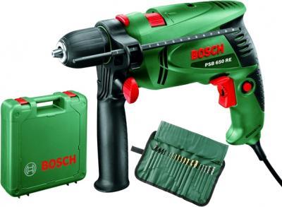 Дрель Bosch PSB 650 RE (0.603.128.008) - комплектация