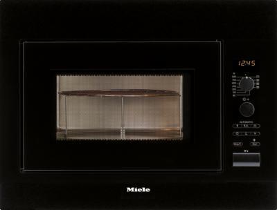 Микроволновая печь Miele M 8261-2 BK - вид спереди