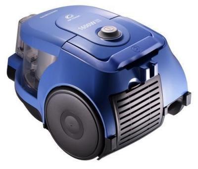 Пылесос Samsung VCC4326S31 (голубой) - вид сбоку